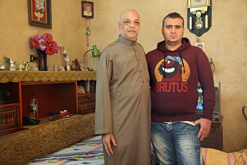Ahmed Kamel - Artwork - Photo series -Taher Kelany-Uncle, C print, 60x40cm, 2012