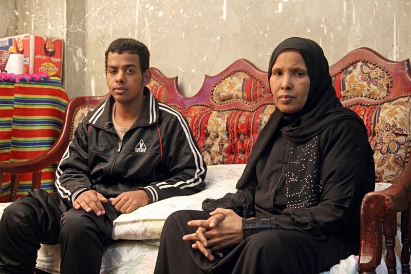 Ahmed Kamel - Artwork - Photo series -Hassan Boshra-Mother-Wife, C print, 60x40cm, 2012
