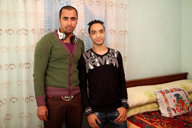 Ahmed Kamel - Artwork - Photo series -Qndil Raafat-Friend, C print, 60x40cm, 2012