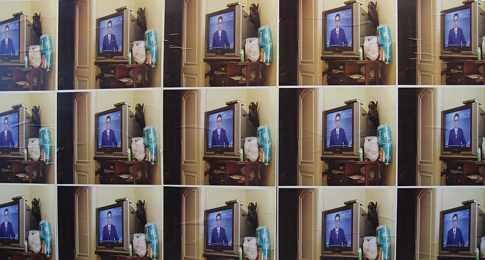 Ahmed Kamel - Artwork - Did Not Happen, photo_Installation, 420 x 150 cm, 2017