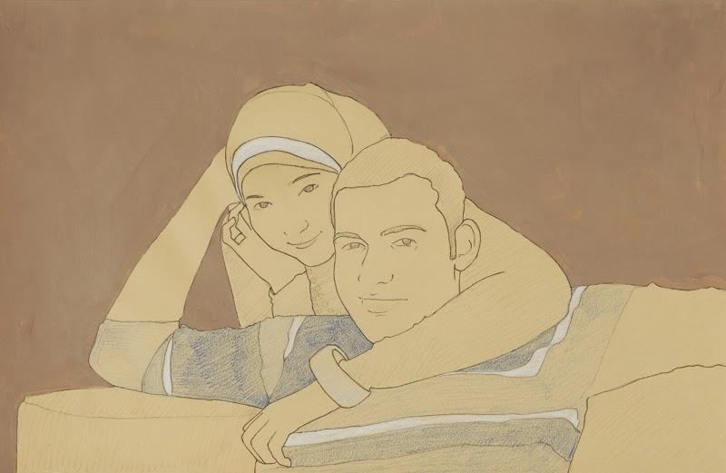 Ahmed Kamel - Artwork - Hypothetical-Society#1-drawing-50x65cm, 2009